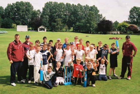 2008 Cricket Scotland Summer Camp